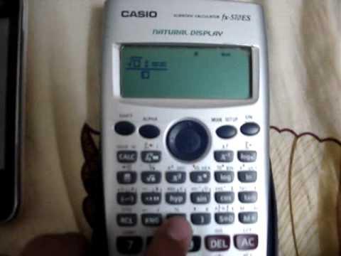 Hướng dẫn làm Tank = Casio FX570 ES