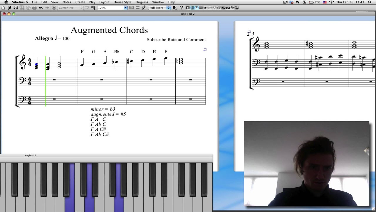 What are augmented chords youtube hexwebz Gallery