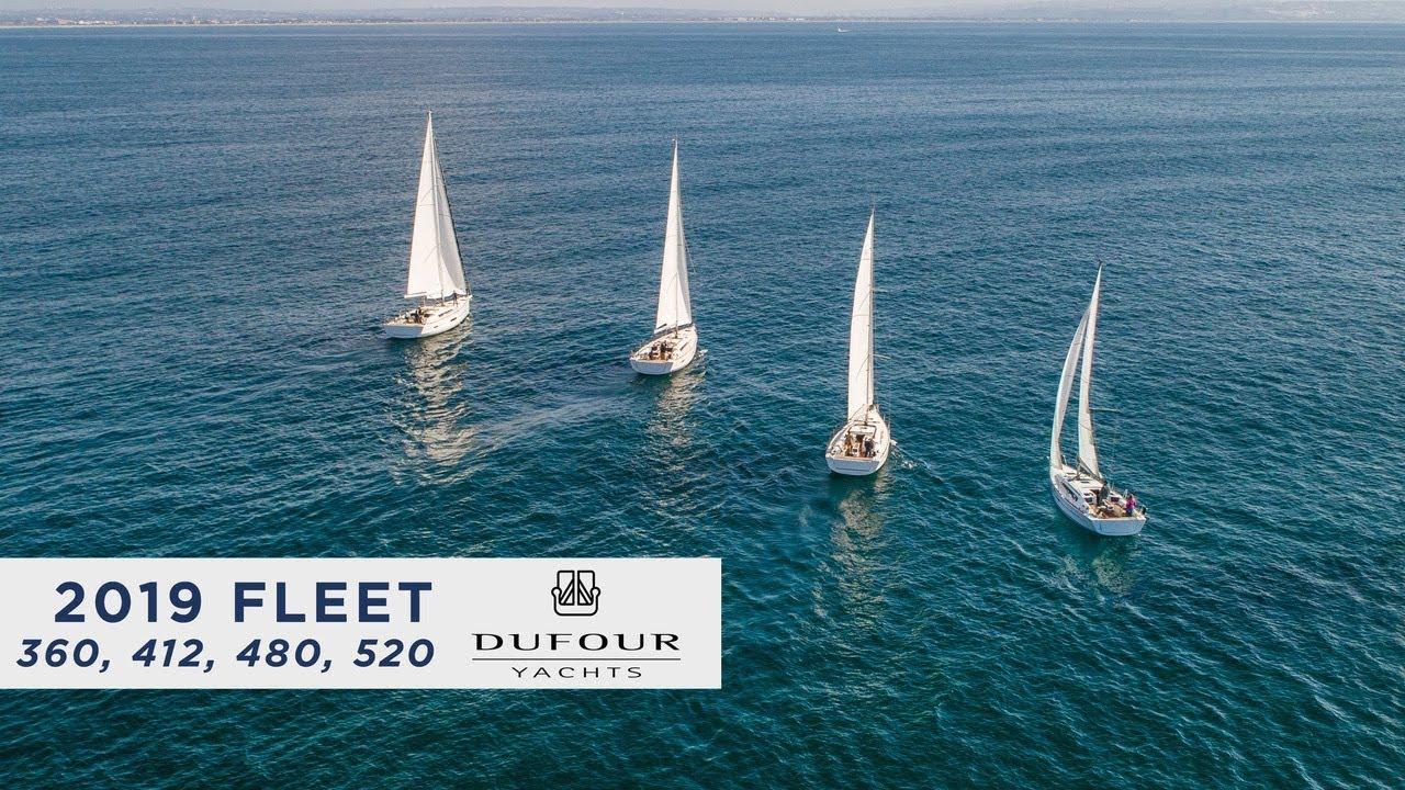 Dufour Sailing Yachts [Dufour 360, 412, 460, 520]