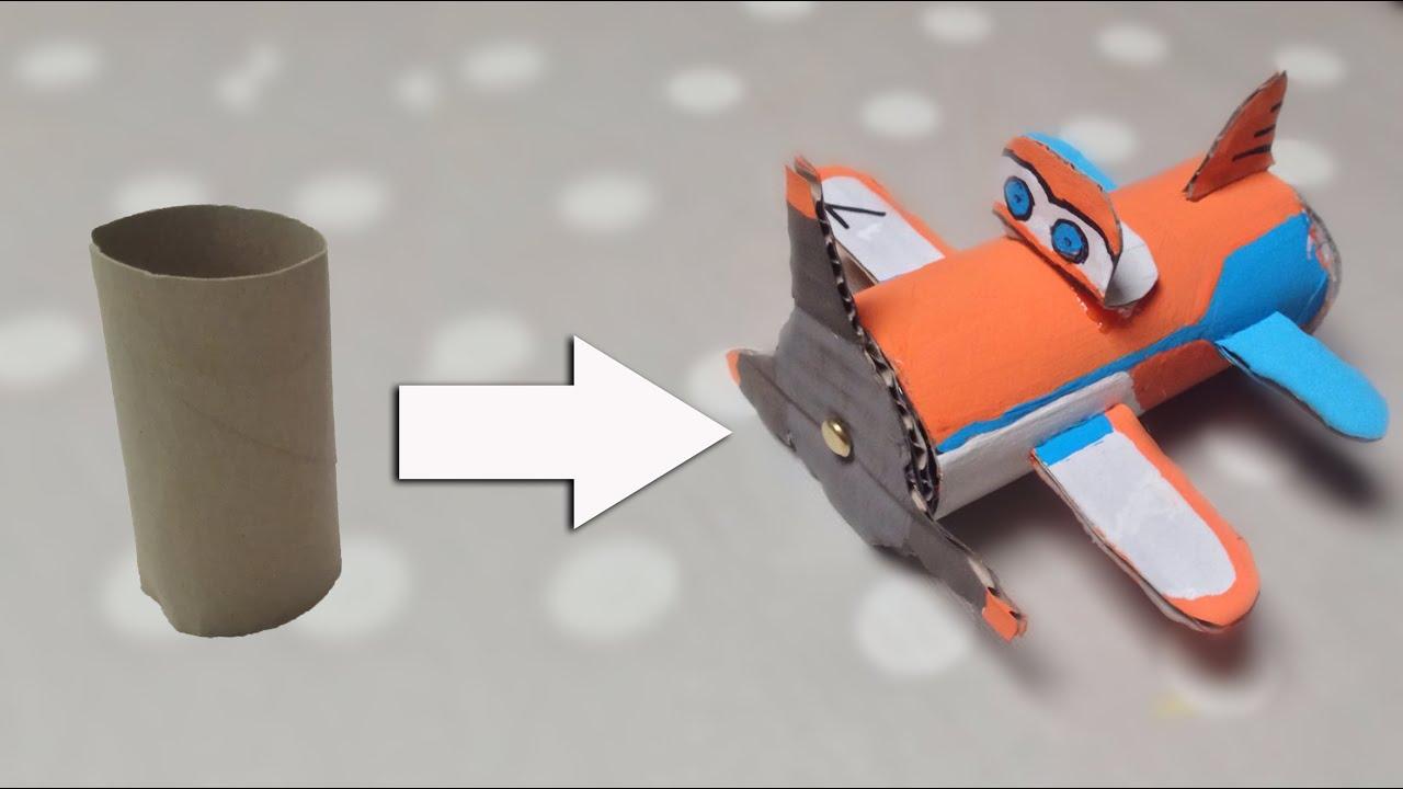 Estremamente Come creare aereoplano Dusty Planes con rotolo di carta igienica  TG74