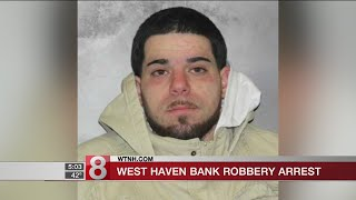 Man charged for West Haven bank robbery