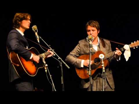 The Milk Carton Kids in concert live acoustic Freiheiz Munich München 2013-09-12