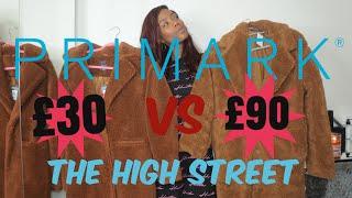 PRIMARK VS THE HIGH STREET