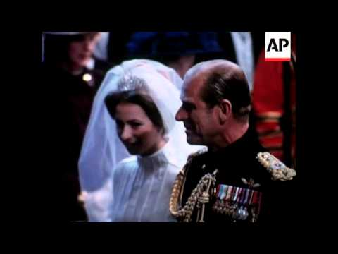 Princess Anne Wedding And Captain Mark Phillips 1979 You