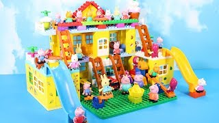 Lego Duplo Peppa Pig House Construction Set - Peppa Pig Legos Creations Toys For Kids #2