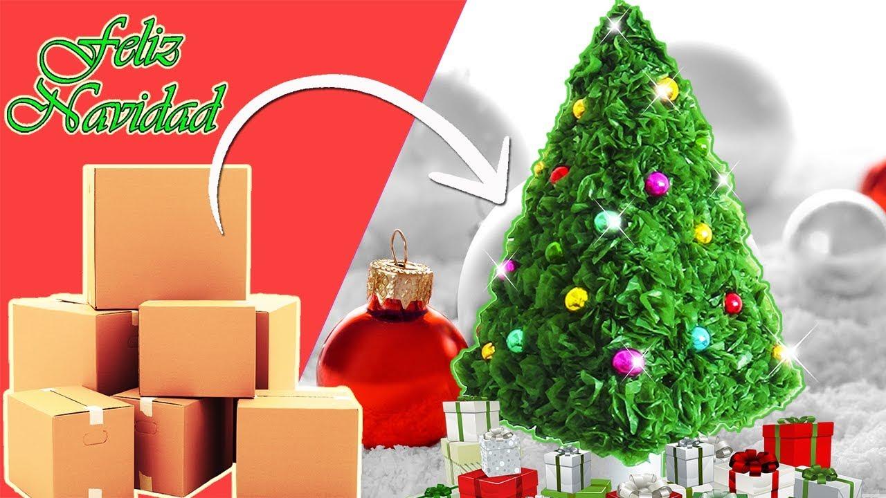 Ideas para navidad arbol de navide o reciclaje - Ideas navidad manualidades ...
