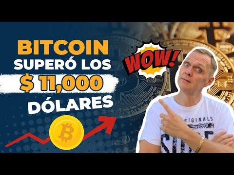 BITCOIN encima de $ 11,000 dólares | ¿A donde va ahora? | BUENOS DIAS CRIPTO | Hoy | Ronny Roehrig