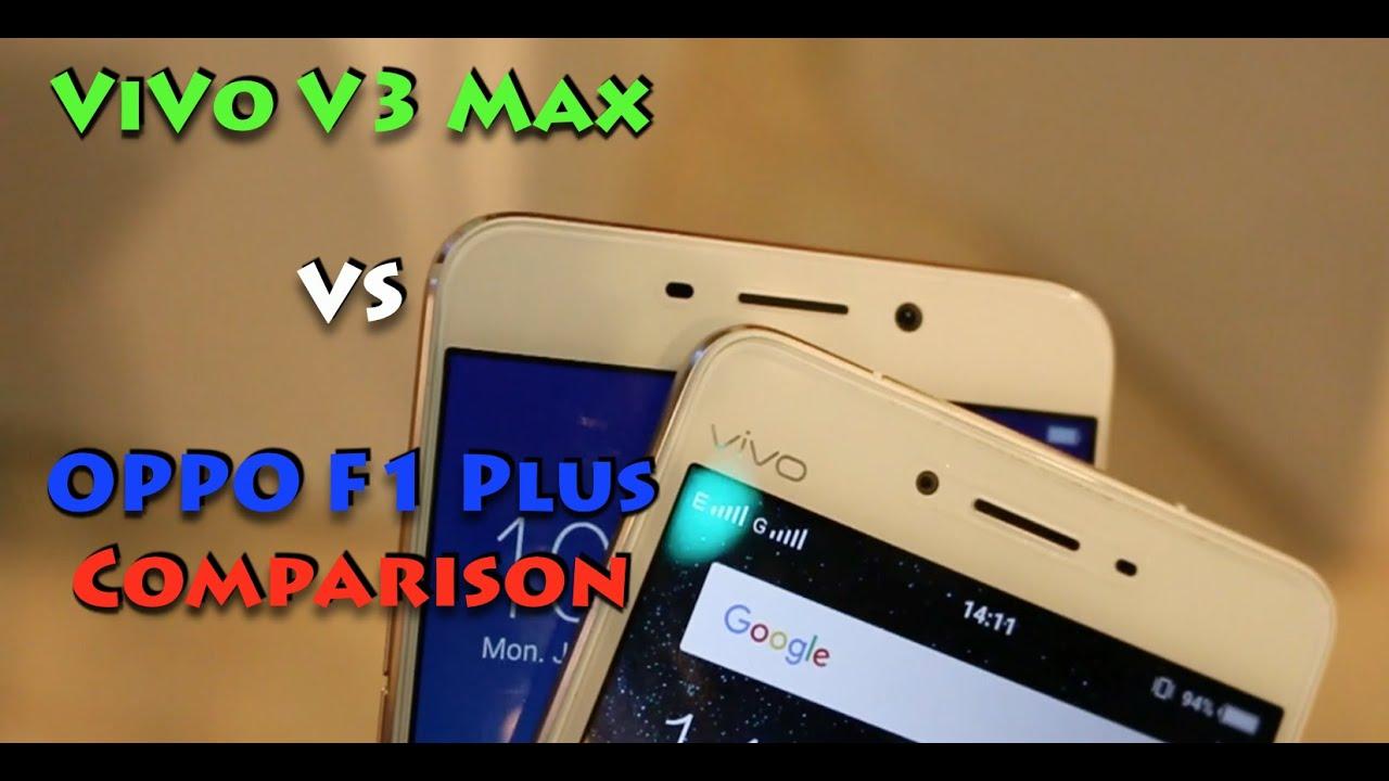 Download Vivo V3 Max VS Oppo F1 Plus Comparison Overview