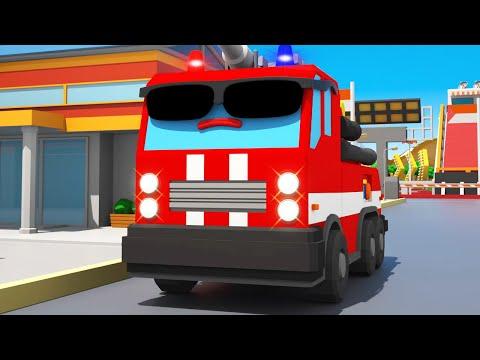 Feuerwehr kinderfilm - Wer hilft Freunden? Feuerwehrauto - Autos für kleinkinder