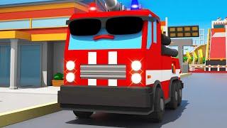 Feuerwehr kinderfilm - Wer hilft Freunden? Feuerwehrauto - A...