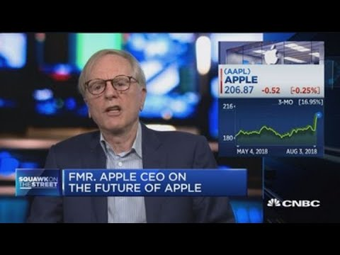 Former Apple CEO on Apple's rise to $1 trillion