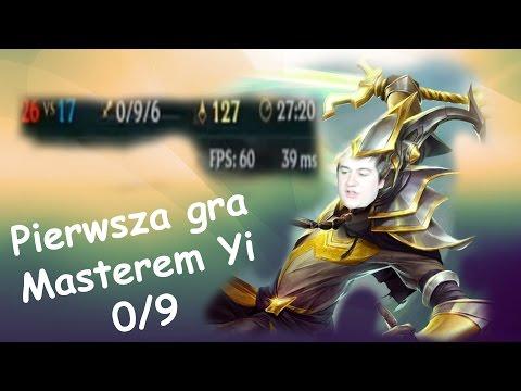 0-9 ALE PIEKNY POWRÓT Master Yi moj pierwszy raz nim