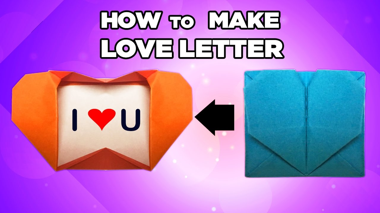 How to make a unique love letter