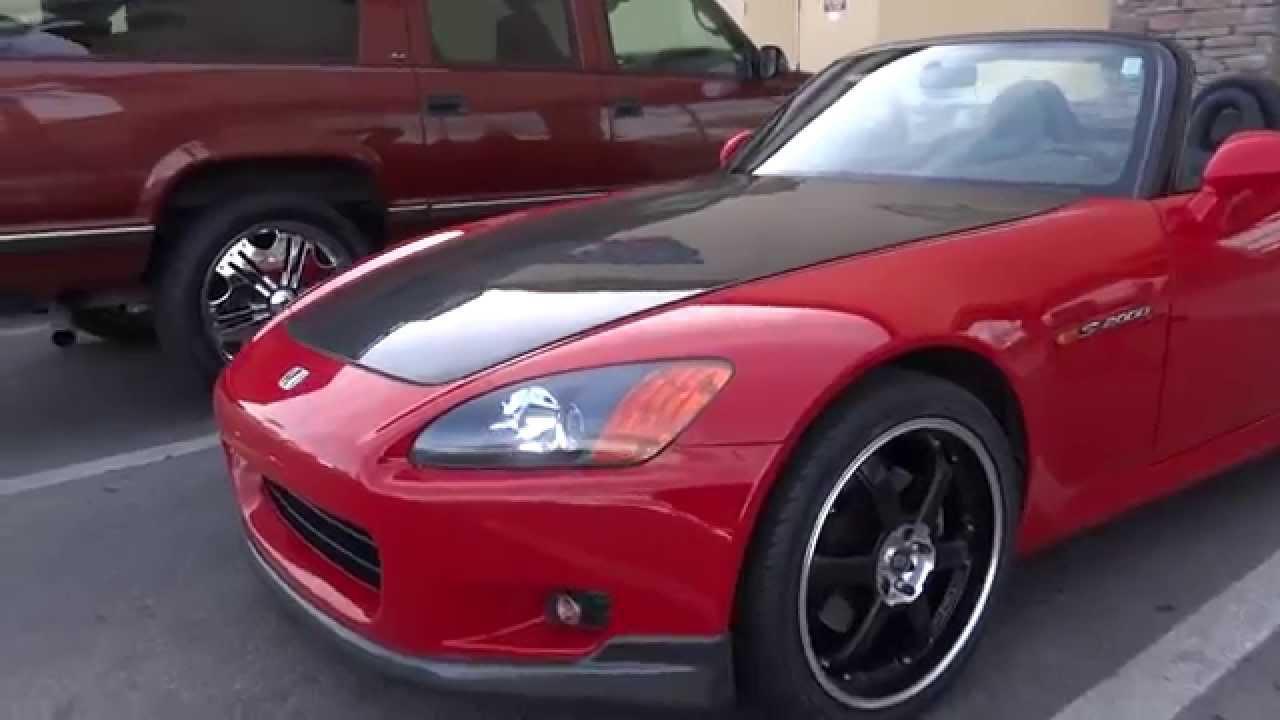 2003 Honda S2000 Tuning Carbon Fiber + Body kit & Rims ...