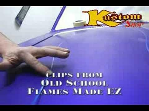 Old School Flames Made EZ with Ed Hubbs & Kustom SHop