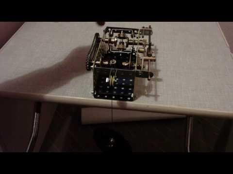 Meccano automatic crane brake