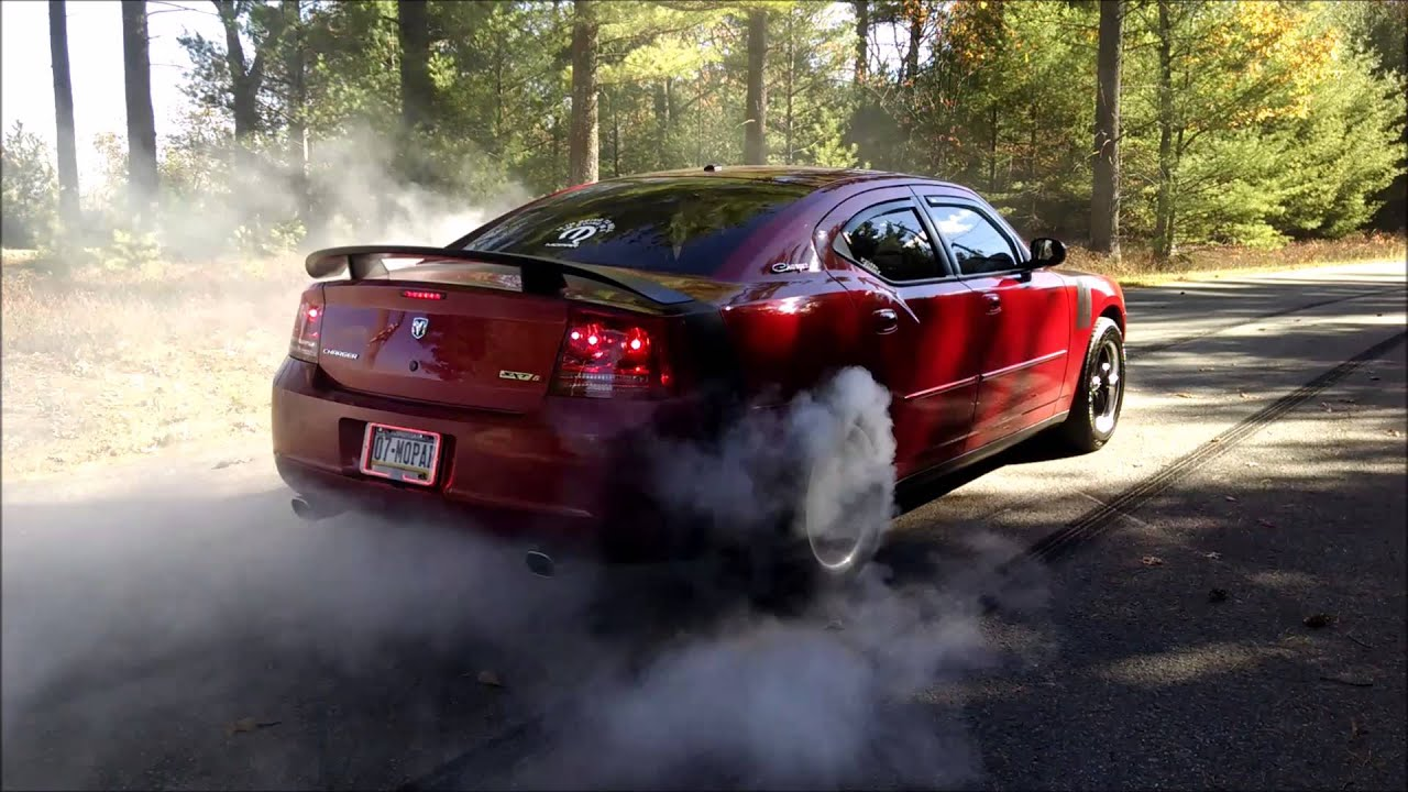 2007 Dodge Charger Sxt 3 5l Burnouts Youtube