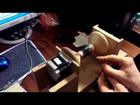 видео: Станок для намотки электро катушек, трансформаторов.