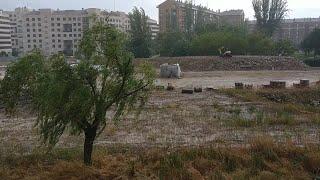 La tormenta llega a Logroño