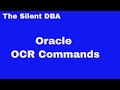 Oracle OCR Commands