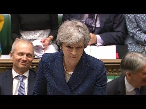 Jeremy Corbyn \'mansplains\' International Women\'s Day to Theresa May