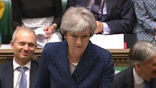 Jeremy Corbyn 'mansplains' International Women's Day to Theresa May