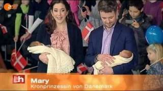 Frederik, Mary & their newborn twins leave the hospital - 3 (2011) Thumbnail
