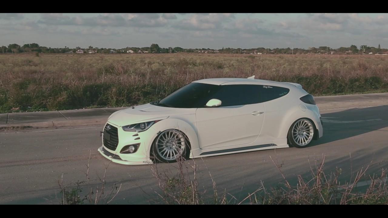 Hyundai Veloster Nia Splitter Lip Body Kit Sides And Eyelids