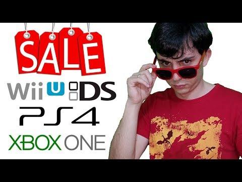 VENDA DO GUIOSS - JOGOS DE WII U, DS, PS4, WII E XBOXONE