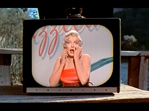 "Marilyn Monroe And ""The New Dazzledent Way"" - ""The 7 Year Itch"""