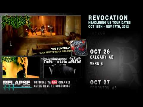 REVOCATION - FALL 2012 North American Tour Teaser