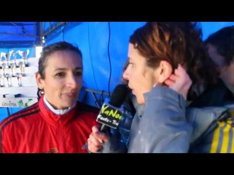 Malika Coutant -  Championne régionale de cross vétérane Pays de la Loire