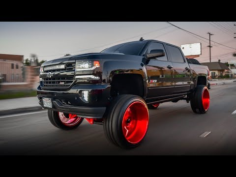 Silverado Z71 on 26x14 Intro Wheels