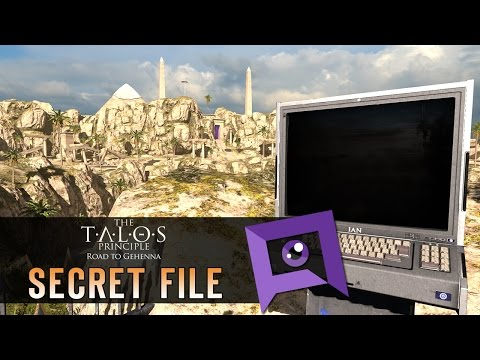 The Talos Principle: Road to Gehenna - Secret File: Serious Sam The Text Adventure