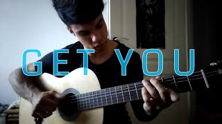 Daniel Caesar - Get You - Fingerstyle Guitar [tabs available]