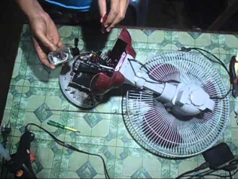 how to make an electric table fan servicing  how to make an electric fan