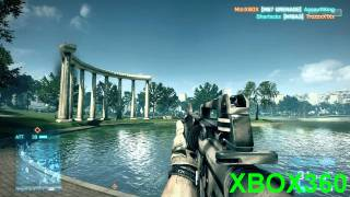 Battlefield 3 Beta Comparison - PS3 VS XBOX 360