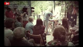 Аруш Воцмуш рассказал днепропетровцам, почему его живопись называется «кипящей»