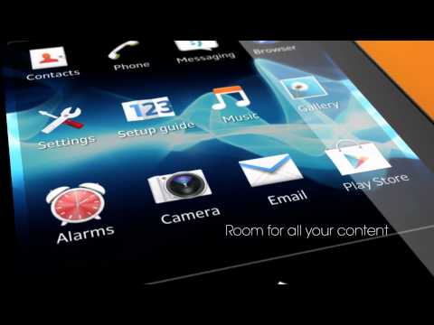 Sony Xperia Tipo Close Up (Commercial) Full-HD