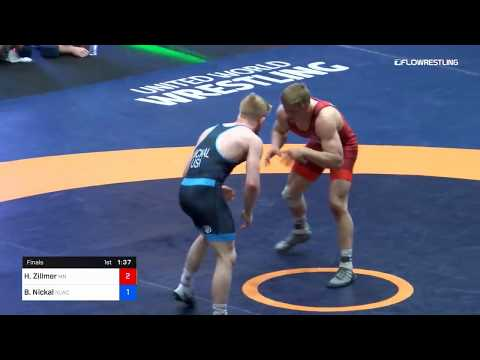 92 Kg Final Hayden Zillmer Minnesota Storm Vs Bo Nickal Nittany Lion Wrestling Club