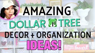 BEST WAYS TO USE DOLLAR TREE PRODUCTS! | Home Decor | Organization | DIY'S | Sensational Finds