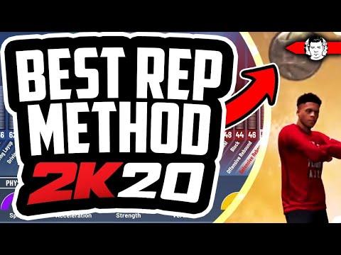 REP UP FAST IN NBA 2K20 - DEMIGOD GUARD BUILD METHOD