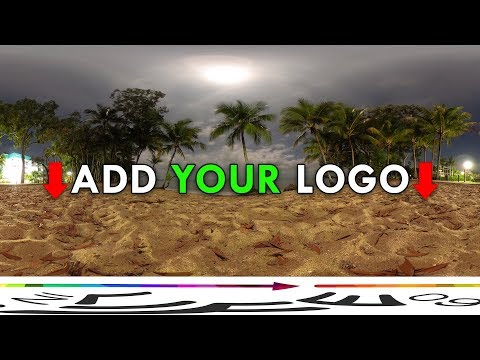 How to Patch Tripod/Nadir By Adding Your Own Custom Logo