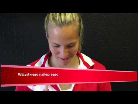 The Swiss Fed Cup team learns Polish