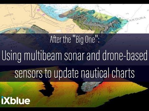 Using multibeam sonar & drone-based sensors to update nautical charts