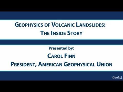 Geophysics of Volcanic Landslides:  The Inside Story