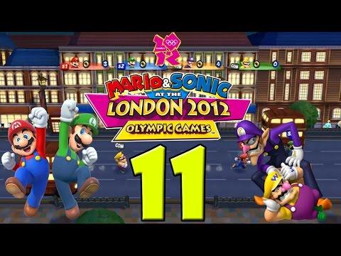 Mario & Sonic Londen 2012 (Multiplayer) DEEL 11: Londen Party (1/2)