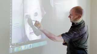 Teach Creatively With Projector Whiteboard Wallpaper