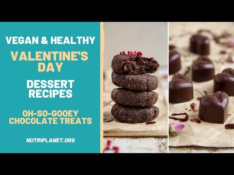 Chocolaty Vegan Healthy Valentine Dessert Recipes [Gluten-Free]
