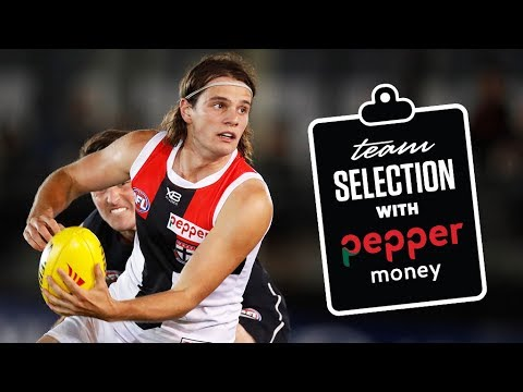 Team selection: Round 1
